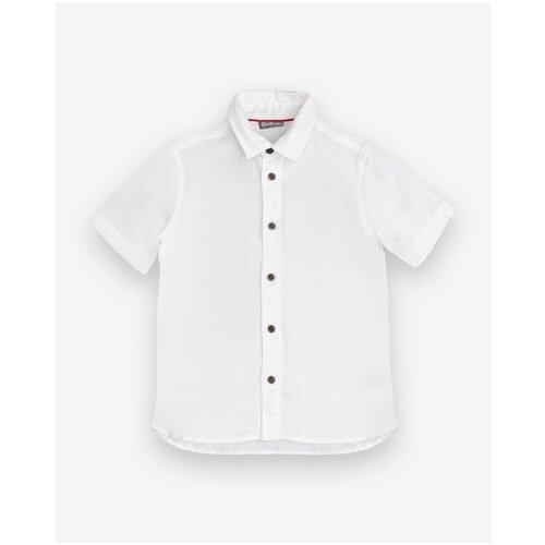 Рубашка Gulliver размер 98, белый