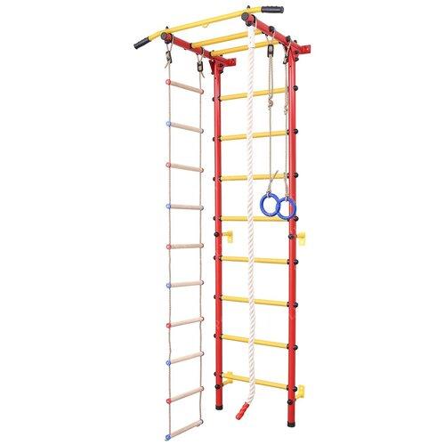 Купить Шведская стенка SportLim DS-12S, красный, Игровые и спортивные комплексы и горки