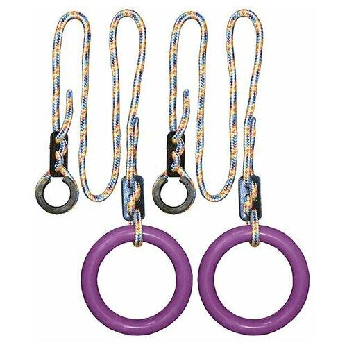 Кольца гимнастические круглые 01 В (Фиолетовый)