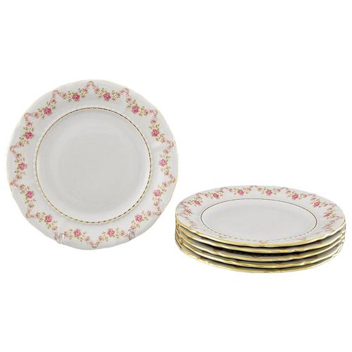 Набор тарелок глубоких Соната Золотая элегантность, 23 см, 6 шт., Leander набор салатников соната золотая элегантность 16 см 6 шт 07161413 1373 leander