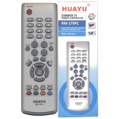 Фото - Пульт универсальный Huayu RM-179FC-1 (HRM529) для телевизоров Samsung пульт huayu rm 016fc универсальный для телевизоров samsung