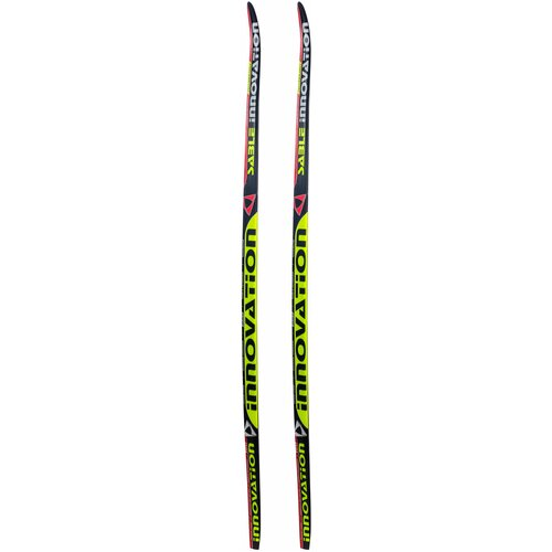 Беговые лыжи STC Sable Innovation (WAX) черный/желтый/красный 200 см