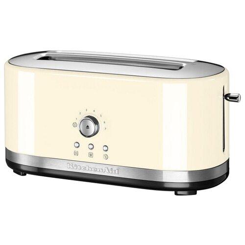 Фото - Тостер KitchenAid 5KMT4116EAC, кремовый тостер kitchenaid 5kmt2204efp морозный жемчуг
