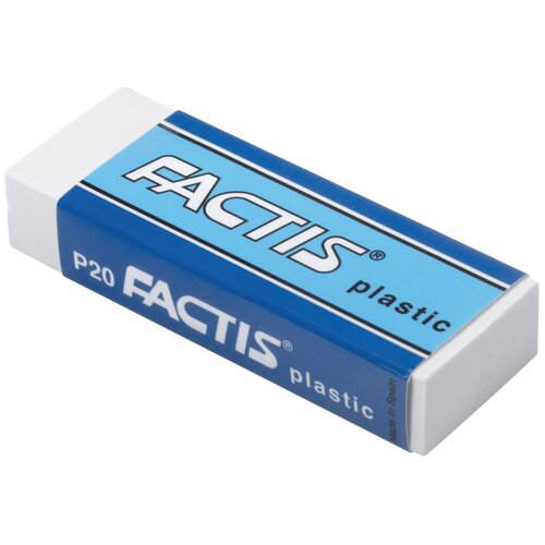 Купить FACTIS Ластик Plastic P 20 белый, Ластики