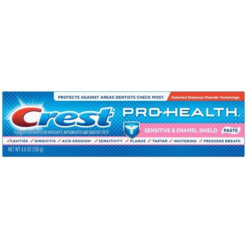 Зубная паста Crest Pro-health sensitive & enamel shield, 130 г