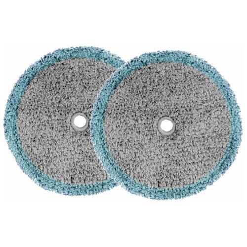 Моющие накладки из микрофибры для Everybot EDGE, RS700, RS500 серые