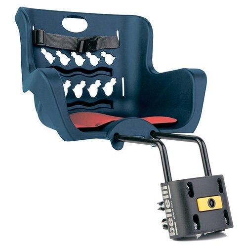 Купить Переднее велокресло Bellelli Pulcino B-Fix, темно-синий, Велокресла