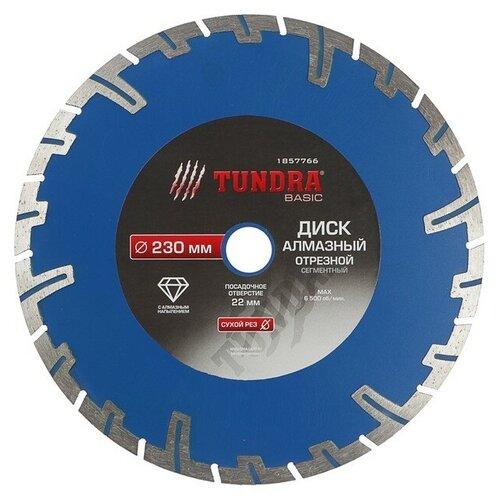 Фото - Диск алмазный отрезной TUNDRA 1857766, 230 мм 1 шт. диск алмазный отрезной tundra 1857756 125 мм 1 шт