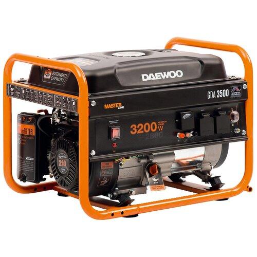Бензиновый генератор Daewoo Power Products GDA 3500 (2800 Вт)
