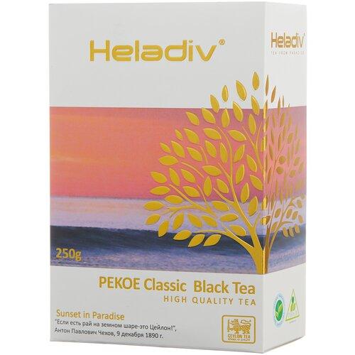 чай зеленый heladiv pekoe green tea soursop 250 г 1 уп Чай черный Heladiv Pekoe Classic black tea, 250 г, 1 уп.