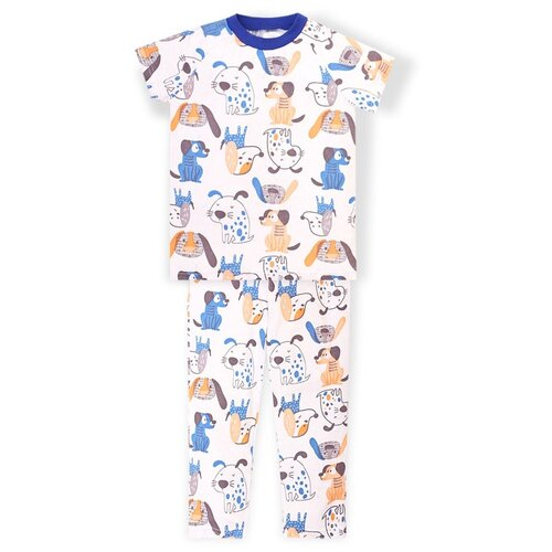 Купить Пижама KotMarKot размер 92, белый, Домашняя одежда