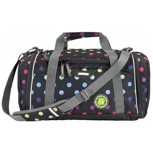 Фото - Сумка спортивная Coocazoo SporterPorter Magic Polka, розовый/черный сумка спортивная coocazoo sporterporter springman мятный