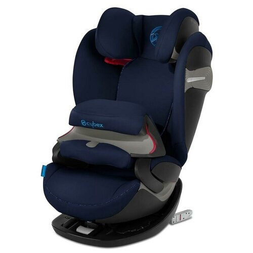 Автокресло группа 1/2/3 (9-36 кг) Cybex Pallas S-Fix, indigo blue автокресло группа 1 2 3 9 36 кг cybex pallas 2 fix pure black