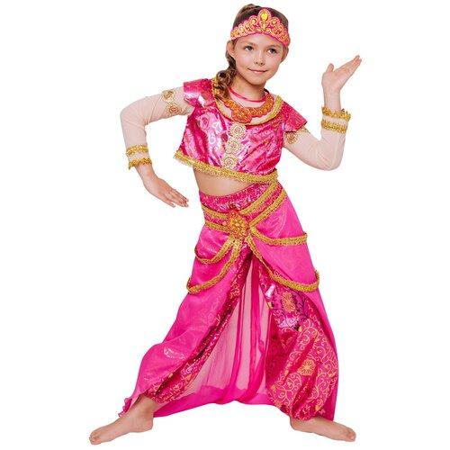 Купить Костюм пуговка Принцесса Востока (2117 к-21), розовый, размер 116, Карнавальные костюмы