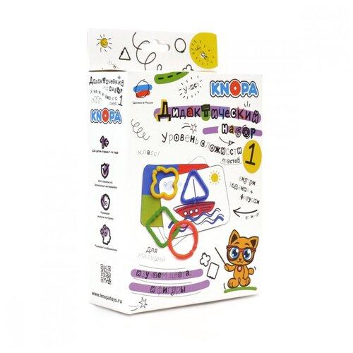 Фото - Обучающий набор Knopa Дидактический набор. Уровень 1 развивающие игрушки knopa дидактический набор мой сад