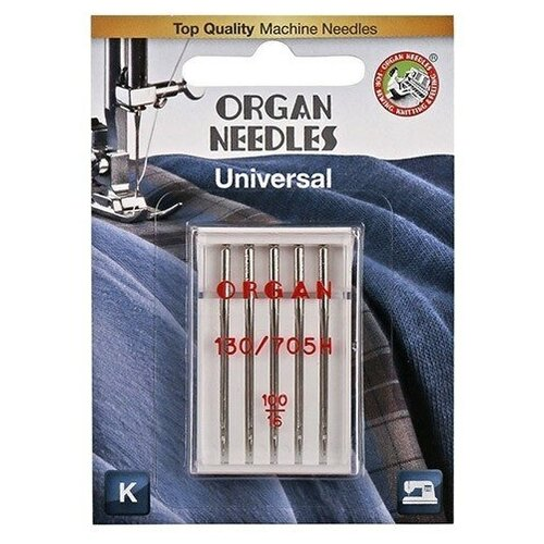 Игла/иглы Organ Universal 100 серебристый
