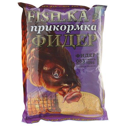 Прикормочная смесь Fish-ka Фидер 1000 г