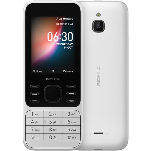 Телефон Nokia 6300 4G белый