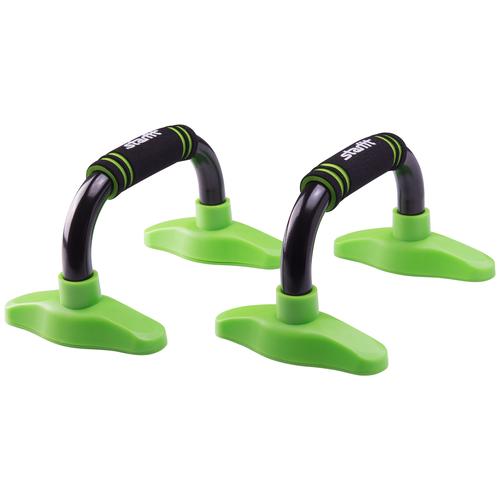 Упоры дуговые Starfit BA-302 черный/зеленый