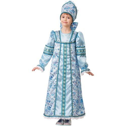 Купить Костюм Батик Василиса Сказочная (5214), голубой, размер 116, Карнавальные костюмы