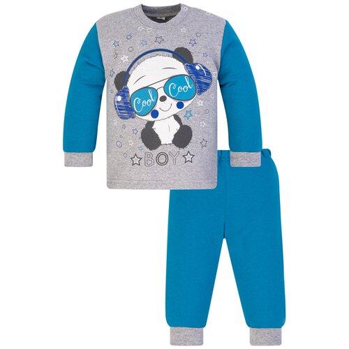 Комплект одежды Утенок размер 98, бирюзовый/меланж недорого