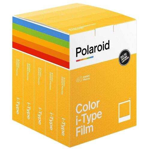 Фото - Картриджи Polaroid I-Type Film 5 pack , 5 х 8 снимков картридж polaroid duochrome film 600 black