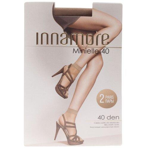 Капроновые носки Innamore Minielle 40 den, 2 пары, размер UNI, daino