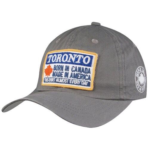 Фото - Бейсболка Be Snazzy Toronto (CZD-0024) размер 56-60, серый бейсболка be snazzy m 1 czd 0046 размер 56 60 темно синий