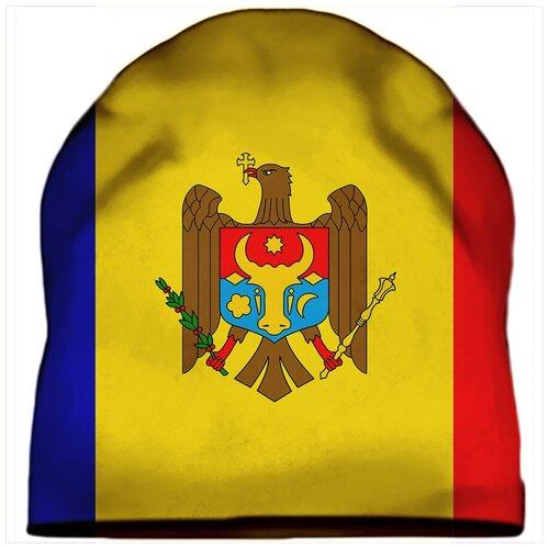 Шапка мужская Флаг Молдовы