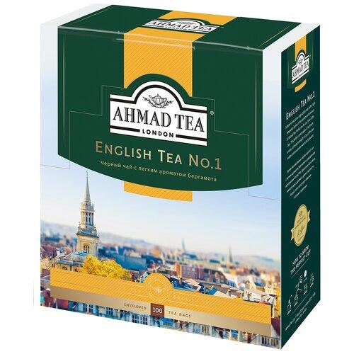 чай черный ahmad tea таинственные сумерки ассорти в пакетиках 30 шт Чай черный Ahmad tea English tea No.1 в пакетиках, 100 шт.
