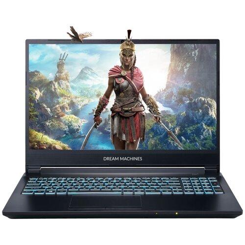 "Ноутбук Dream Machines G1650Ti-15RU43 (Intel Core i5 10300H/15.6""/1920x1080/16 Gb/1024 Gb SSD/NVIDIA GeForce GTX 1650 Ti 4 Gb/Без ОС) G1650Ti-15RU43 черный"