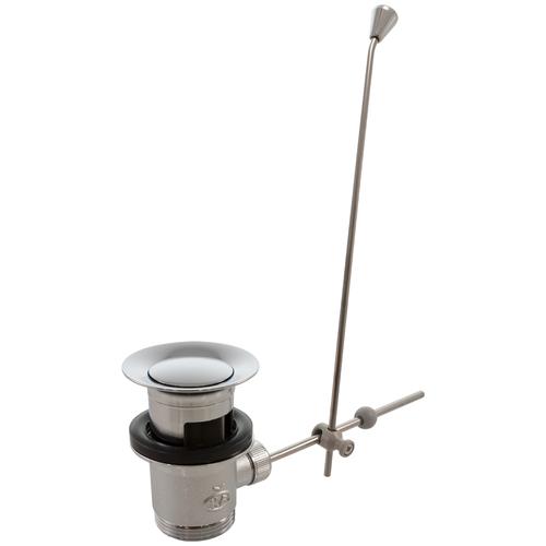 Фото - Донный клапан полуавтоматический для раковины Oras 552051 донный клапан полуавтоматический для ванны для раковины wasserkraft а024