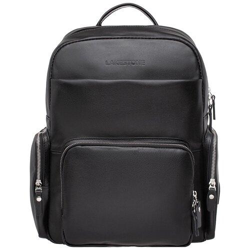 Кожаный рюкзак Seddon Black недорого