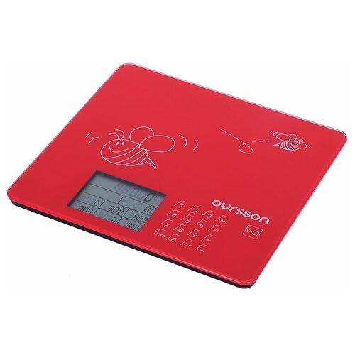 Фото - Кухонные весы Oursson KS0502GD/RD весы oursson ks0501gd sp