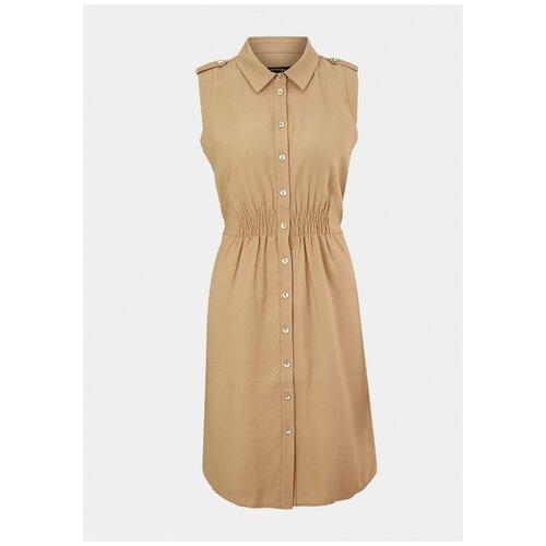 Платье Comma. размер 40 (L), бежевый