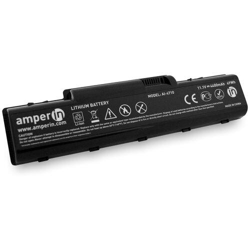 Аккумуляторная батарея Amperin для ноутбука Acer Aspire 2930 4710 11.1V 4400mAh (49Wh) AI-4710