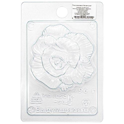 Пластиковая форма (Роза фактурная)