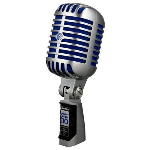 SHURE Super 55 Deluxe Динамический суперкардиоидный вокальный микрофон