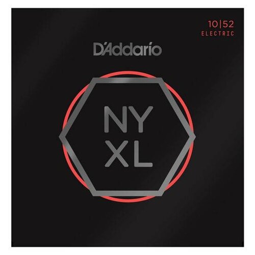 D`ADDARIO NYXL1052 SUPER LIGHT 10-52 Струны для электрогитары, толщина 10-52