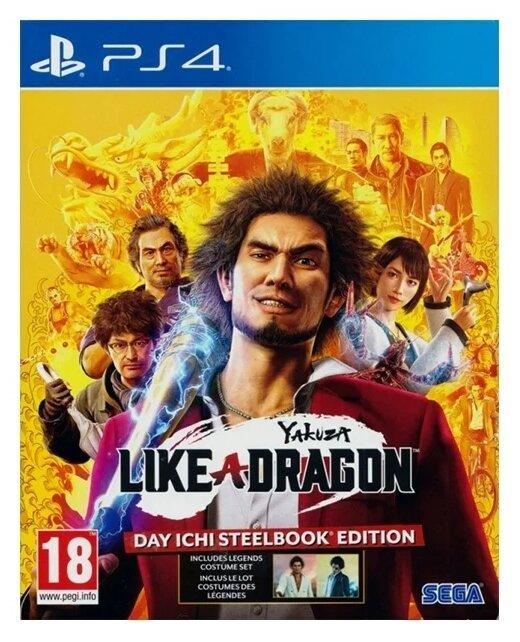 Игра для PlayStation 4 Yakuza: Like a Dragon. Day Ichi Edition, английский язык фото 1