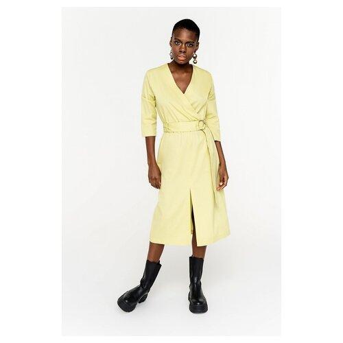 платье befree 1911090507 женское цвет красный 70 однотонный р р 42 xs 170 Платье befree 2021131521 женское Цвет Желтый лайм10 Однотонный р-р 42 XS