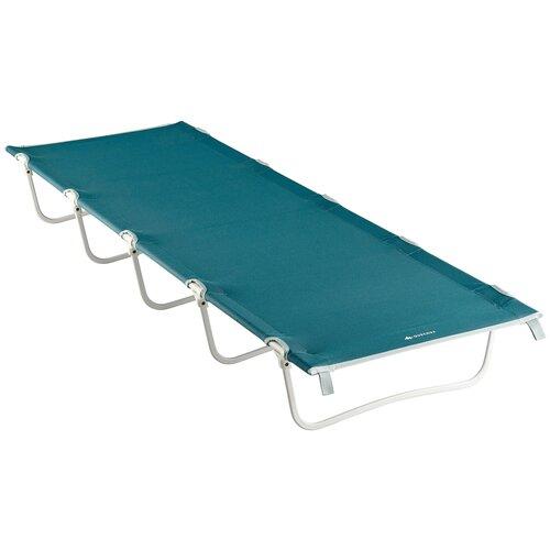 Кровать для кемпинга для 1 человека 60 см CAMP BED BASIC QUECHUA X Декатлон