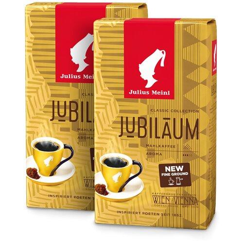 Фото - Юбилейный Классическая Коллекция, кофе молотый, 250 г (1+1) кофе молотый julius meinl юбилейный 250 г