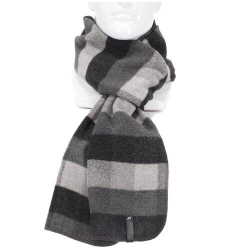 Шарф Antar 27114БС из шерстяного ткани, темн. серый/серый