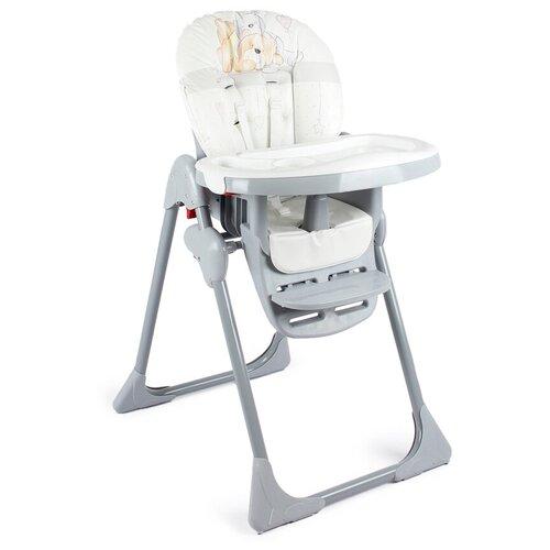 стул для кормления globex космик new белый Стул для кормления Globex Космик коллекция Мишки, серый