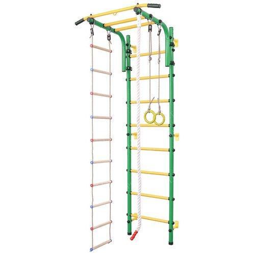 Купить Шведская стенка SportLim DS-11S зелeный, Игровые и спортивные комплексы и горки