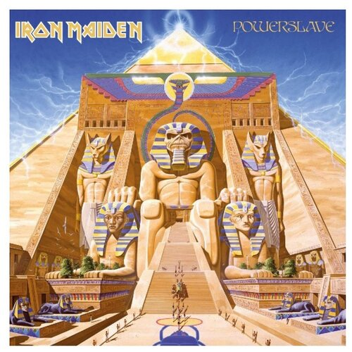 Iron Maiden. Powerslave (LP) виниловая пластинка iron maiden powerslave 0825646248698