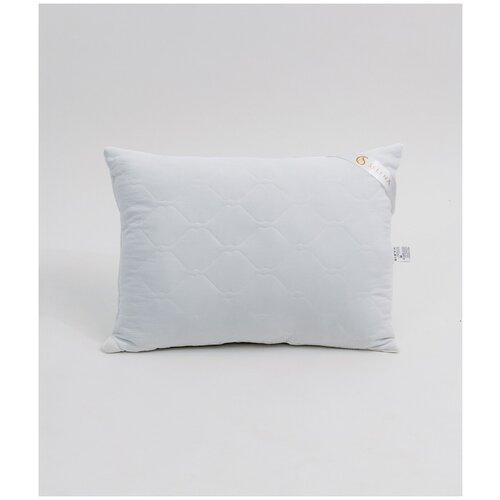 Подушка crinkle line иск.лебяжий пух, микрофибра, пэ 100%, 50x70, белый