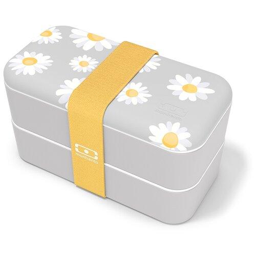Monbento Ланч-бокс Original, Daisy monbento ланч бокс original 18 6x11 см flower mood denim
