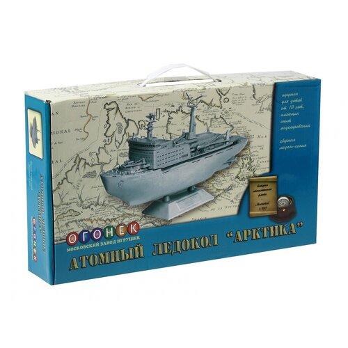 Купить Сборная модель Огонек копия атомный ледокол Арктика (С-288), ОГОНЁК, Сборные модели